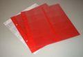 5 große Münz-Hüllen Prophila rot