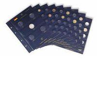Münzblätter VISTA, für 2-Euro-Münzen