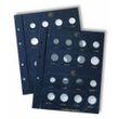 Münzblätter VISTA, Euro neutral für je 2 Kursmünzensätze pro Blatt