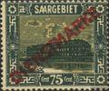 Saarland D10 mit Falz 1922 Landschaften