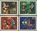 Berlin (West) 418-421 (kompl.Ausgabe) postfrisch 1972 Jugendmarken