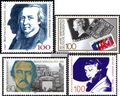 BRD (BR.Deutschland) 1473,1479,1480,1483 (kompl.Ausgaben) gestempelt 1990 Sondermarken
