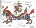 BRD (BR.Deutschland) Block35 (kompl.Ausgabe) Ersttagssonderstempel gestempelt 1996 Für uns Kinder