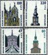 BRD (BR.Deutschland) 2156-2157,2176-2177 (kompl.Ausg.) gestempelt 2001 Sehenswürdigkeiten