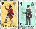 GB-Insel Man 142-143 (kompl.Ausg.) postfrisch 1979 Europa: Geschichte der Post