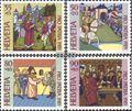 Schweiz 1393-1396 (kompl.Ausg.) gestempelt 1989 Pro Patria