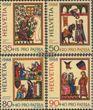 Schweiz 1372-1375 (kompl.Ausg.) gestempelt 1988 Pro Patria