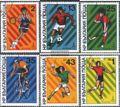 Bulgarien 2877-2882 (kompl.Ausg.) gestempelt 1980 Sommerolympiade in Moskau