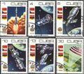 Kuba 2384-2389 (kompl.Ausg.) gestempelt 1979 10 Jahre bemannte Raumfahrt