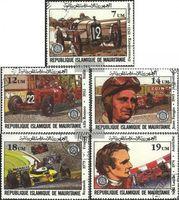 Mauretanien 749-753 (kompl.Ausg.) gestempelt 1982 Grosser Preis v. Frankreich