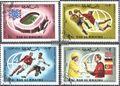Ras al Chaima 152A-155A (kompl.Ausg.) gestempelt 1966 Endspiel Fußball-WM ´66,England