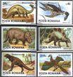 Rumänien 4911-4916 (kompl.Ausg.) gestempelt 1993 Prähistorische Tiere