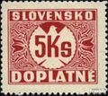 Slowakei P10x postfrisch 1940 Portomarke