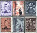Vatikanstaat 517-522 (kompl.Ausg.) postfrisch 1967 Flugpost