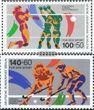 Berlin (West) 836-837 (kompl.Ausg.) FDC 1989 Sporthilfe