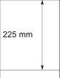 Lindner 802104 T-Blanko-Blätter - 1 Stück