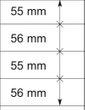 Lindner 802420 T-Blanko-Blätter - 1 Stück