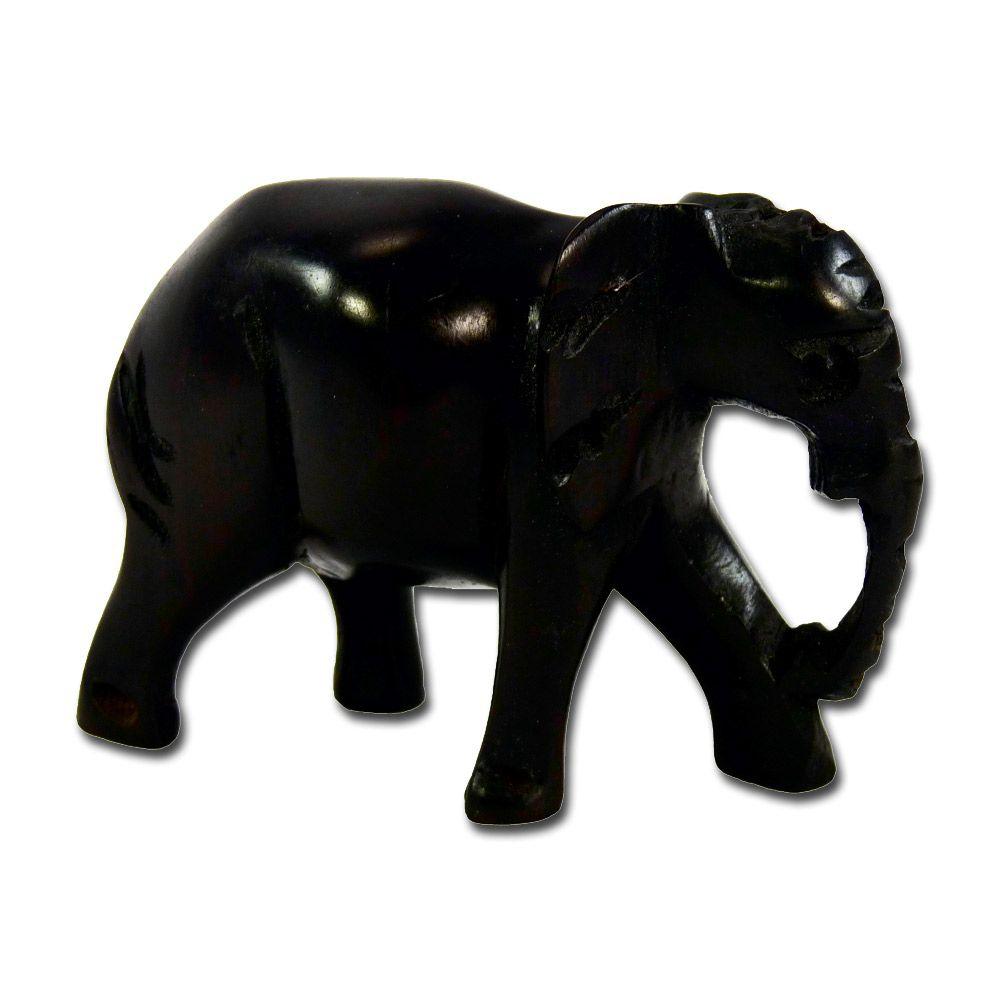 8x Elefant Elefanten Figur Skulptur Tierfigur Asien Afrika Holz