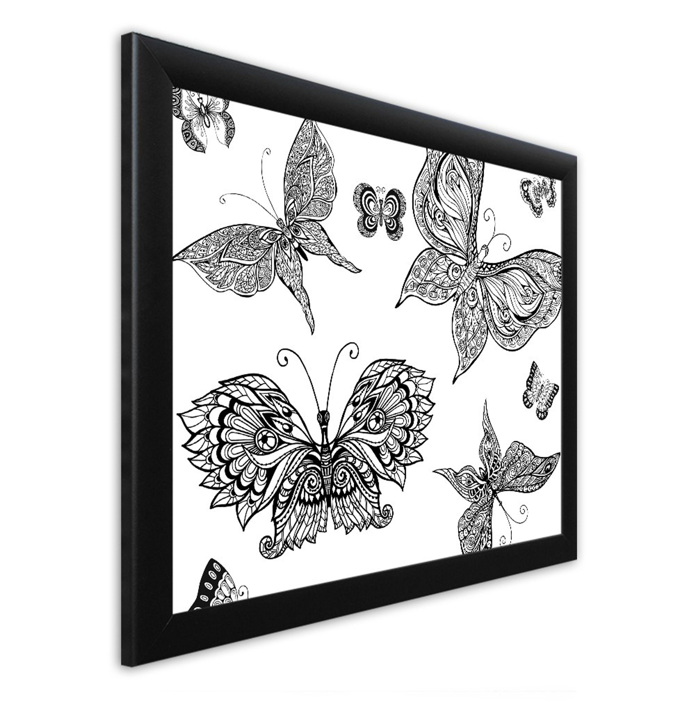 Ausmalbild mit Rahmen 46x56cm | Artissimo – art is simply more
