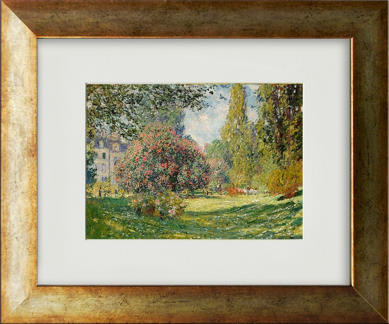 Monet Bild / Poster gerahmt 40x33cm | Artissimo – art is simply more