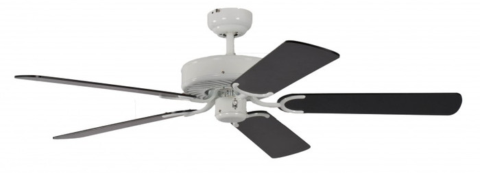 Ceiling Fan Potkuri White, Blades Black