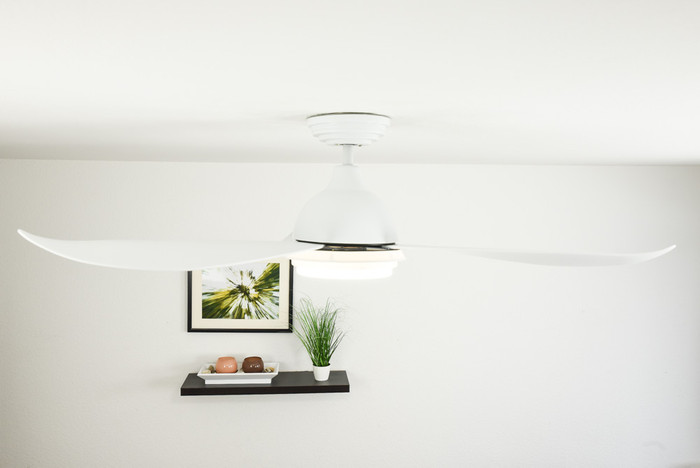 Low Energy Ceiling Fan Raja with LED Light