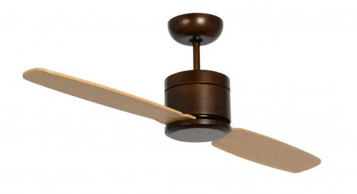 Turno Bronze with Light, Maple Blades & Remote Control