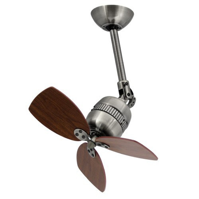Wall / Ceiling Fan Toledo Pewter with Wall Controller