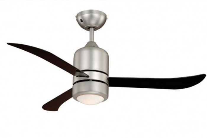 Deckenventilator Loft Nickel schwarz mit Beleuchtung