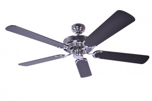 Ceiling Fan Potkuri Steel, Blades Black 001