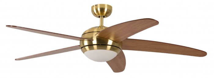 Melton Brass, Blades Honey Maple with Remote Control