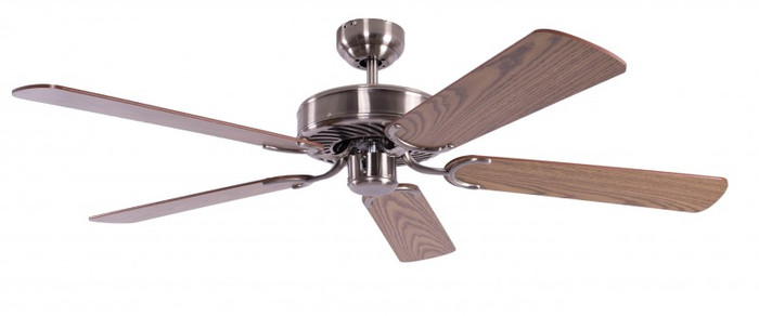Ceiling Fan Potkuri Aged Silver, Blades Oak