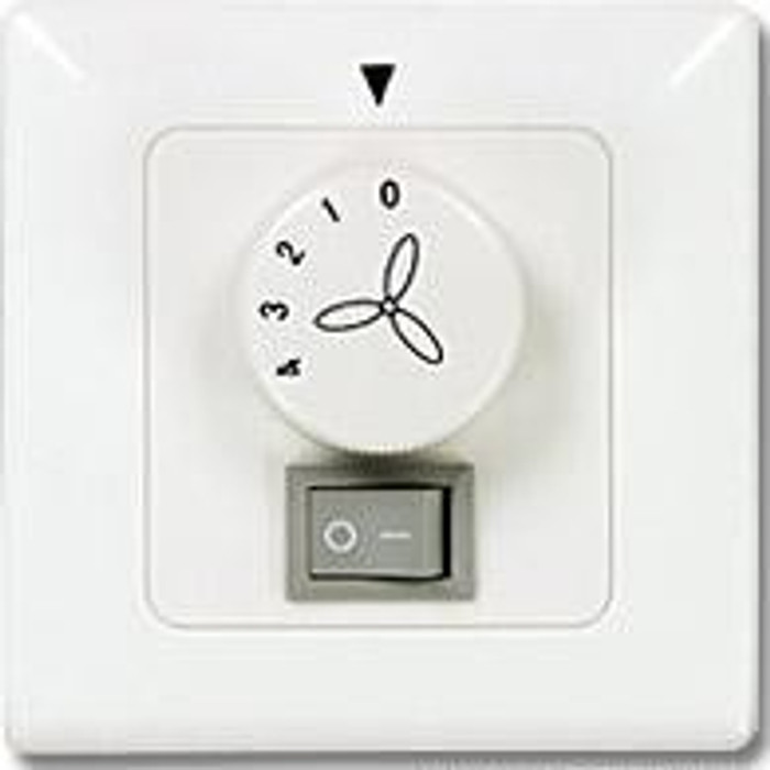 Wall Controller for Ceiling Fans with Light Flush-mounted
