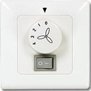 Wall Controller for Ceiling Fans with Light Flush-mounted 001