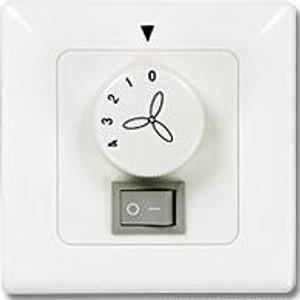 Wandschalter für Deckenventilatoren mit Licht Unterputz 001