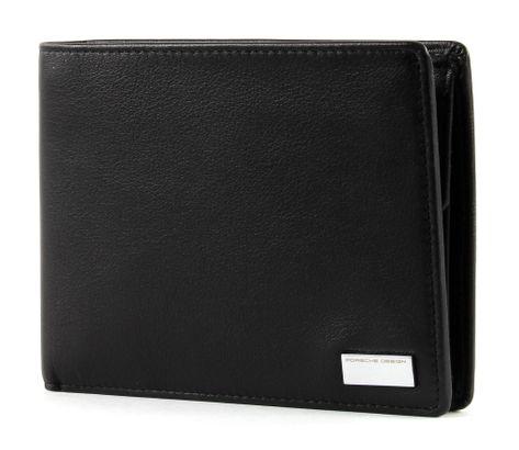 PORSCHE DESIGN Billfold H10 Geldbörse Portemonnaie P 3300 Schwarz Black