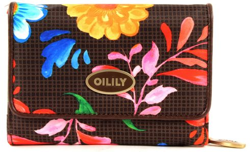 "Oilily ""Russian Rose S Wallet Walnut"" Geldbörse"