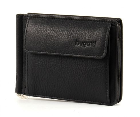 bugatti City Line Clip Purse Black