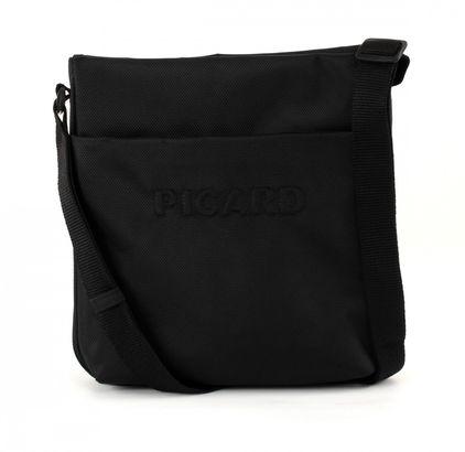 PICARD Hitec S Zip Shoulderbag Black