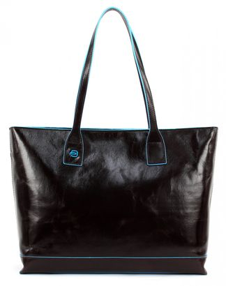 PIQUADRO Blue Square Office Shopper Mogano