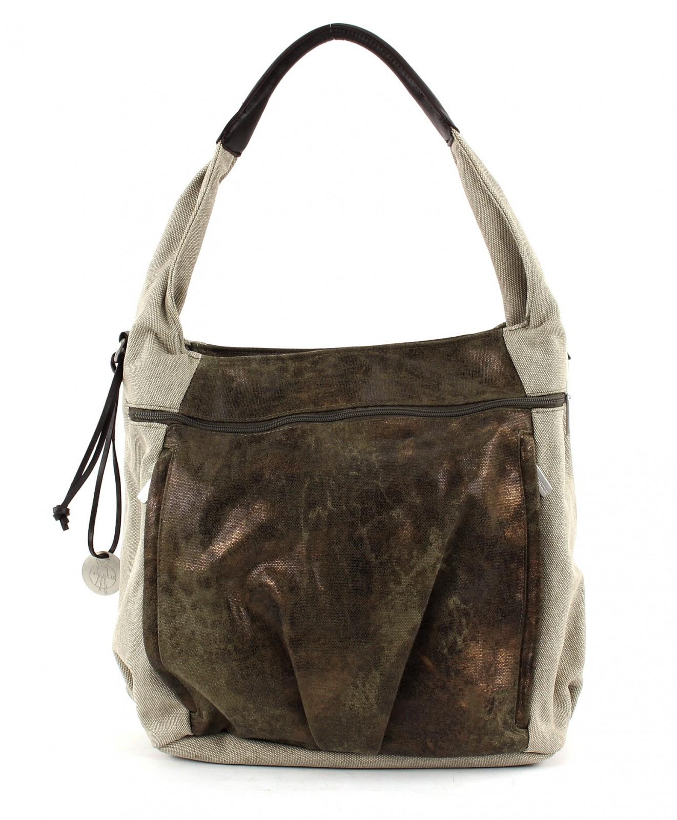 Lässig Diaper Bag Casual Hobo Olive-Beige