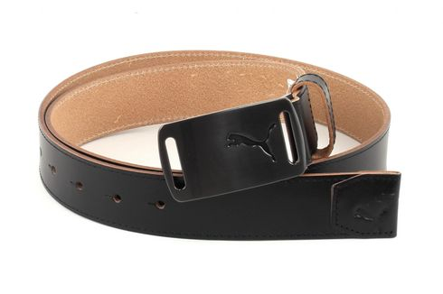 PUMA Lux Fitted Golf Belt XL W115Black