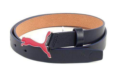 PUMA Skinny Pop Fitted Belt L W95 Navy