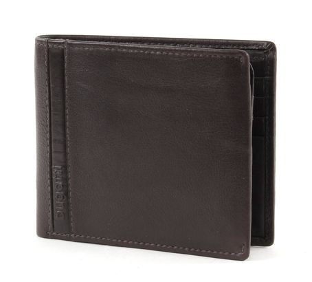 bugatti Trenta Wallet With Top Flap Brown