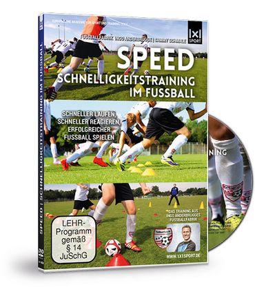 """DVD """"SPEED Schnelligkeitstraining im Fußball"""""""