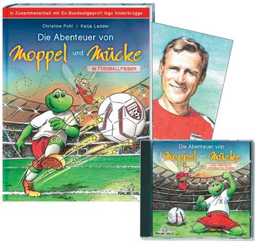 """Die Abenteuer von Moppel und Mücke """"Im Fussballfieber""""Das Buch – Bild 2"""