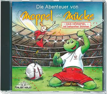 """Die Abenteuer von Moppel und Mücke """"Im Fussballfieber""""Das Hörspiel – Bild 1"""
