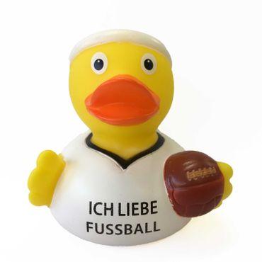 Ich liebe Fußball Badeente