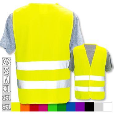 Warnweste in vielen Farben mit eigenem Text oder Grafik – Bild 5