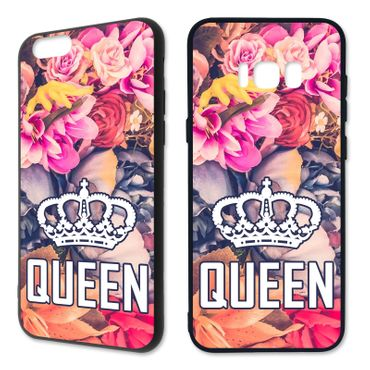 Handyhülle 'King & Queen - Blumen' - Apple | Hardcase – Bild 12